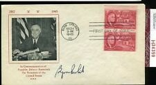 Byron Whizzer White Signed Jsa Certed 1945 Fdc Autograph Authentic