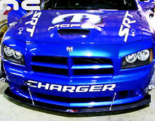 2006 2007 2008 2009 2010 Dodge Charger SRT8 Front Bumper Carbon Fiber Splitter