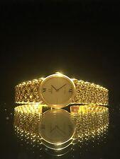 18K Solid Gold Omega De Ville Ladies' Bracelet Watch. Reference: 8339. 1980's.