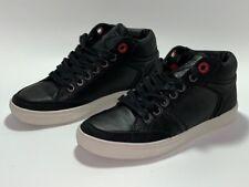 Men GUESS GM Julius-R Hi Top Sneaker Shoes Size US 8.5 Black Red