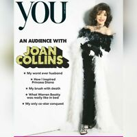 UK You Magazine January 2021: JOAN COLLINS COVER & FEATURE