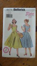 Butterick Retro 1952 Pattern #6175, Dress, Sz 14-16-18
