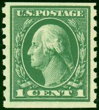 412 - 1c Washington - Fault Free Mint Never Hinged Single