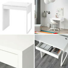 Ikea Micke Work Station Table Desk For Home Office Computer White 73x50 cm