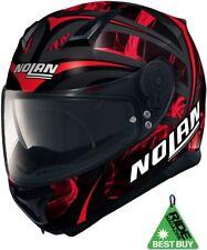 Casques rouge Nolan moto pour véhicule