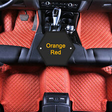 For Lexus RX350 2009-2017 Unique Car Floor Mat Waterproof 7 Colors Leather UC913