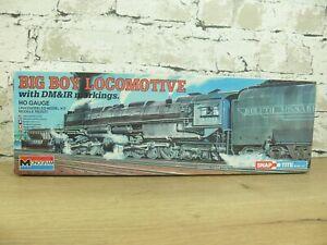 5889) Monogram BIG BOY Locomotive NEU ork HO SELTEN VINTAGE Bausatz dampflok