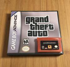 New! Gta Grand Theft Auto - Game Boy Advance - Case + Game - Usa!