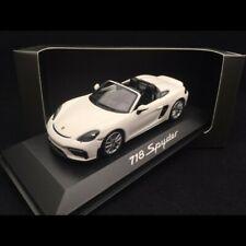 Porsche 718 Boxster Spyder 2019 blanc 1/43 Minichamps WAP0202100K