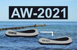 2x Bootskennzeichen / Bootsname als Schablone   speziell für Schlauchboote 10cm