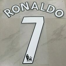 Premier league Manchester United Christiano Ronaldo Home shirt jersey Printing