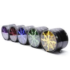 Tobacco Smoking Herb Grinders 63mm Aluminium Alloy Lightning Grinders  5 Colors