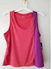 NWT! Women's Joy Lab Activewear Athletic Orange & Purple Tank Top - Small
