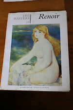 Masters Knowledge Publications No 21 RENOIR Glossy Artist History Painting Art