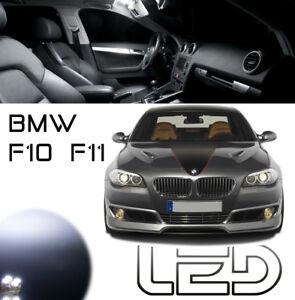 BMW F10 F11 19 ampoules LED Habitacle Plafonnier coffre sols Portes Miroirs