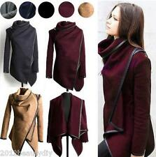 Women Slim Winter Warm Trench Coat Long Wool Jacket Outwear Parka Cardigans Tops