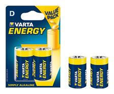 Pile Alcaline Varta ~ 1,5V ~ LR20 ~ Type D ~ Energy (2 pièces)