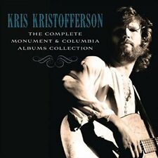 The Complete Monument & Columbia Album Collection [Box] by Kris Kristofferson (CD, Jun-2016, 16 Discs, Legacy)