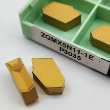 SP600 10pc ZQMX6N11-1E GTN-6 Grooving Cut-Off blade 6mm Width Carbide Inserts