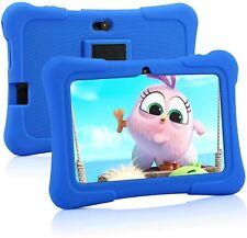 PRITOM 7 inch Kids Tablet PC 1GB RAM 16GB ROM Android 10.0 Quad Core (Dark Blue)