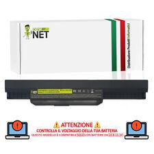 Batteria A31-K53 A41-K53 A32-K53 compatibile Asus K53S K53SV X53S X54C [5200mAh]