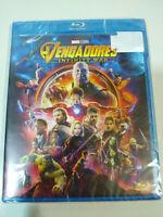 Vengadorers Infinity War Marvel Studios - Blu-Ray + Extra Spagnolo English - Am