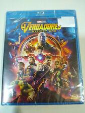 Vengadorers Infinity War Marvel Studios - Blu-ray + Extras Español English