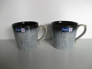 Denby Halo 2 x Heritage Mugs New First Quality Excellent Condition
