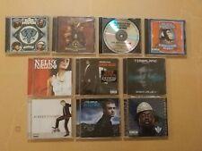 10 Pop / Hip-Hop Cds - Black Eyed Peas Nelly Furtado Timbaland Justin Timberlake