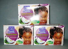 3 x DARK & LOVELY Beautiful Beginning No-Lye Relaxer Fine Hair Haarglätter