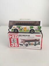 Tomy Tomica No 38 Pocket Monster Bus Nintendo (UK Seller)