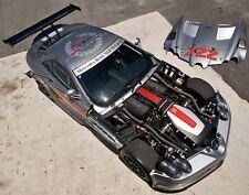 Mercedes Benz SLR McLaren 722 GT Trofeo De Fibra De Carbono Parachoques Delantero & Bonnet Capucha