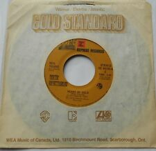 NEIL YOUNG Heart Of Gold / Old man VG++ CANADA GOLD STANDARD FOLK Reissue 45