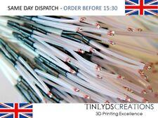 5x 100K OHM NTC 3950 Thermistors + Cable Wire High Temp Resistance-Reprap Mendel