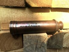 """Antique Vintage Telescope 16"""" Inches Collapsible Telescope & Wooden Case 1915s"""