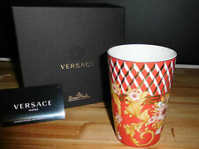 """VERSACE BY ROSENTHAL, GERMANY  """"BRIGHT CHRISTMAS"""" MUG WITHOUT HANDLE."""