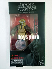 "HASBRO STAR WARS Black Series 6"" inch ZUCKUSS Toys R Us Exclusive action figure"