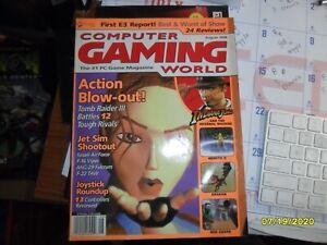 Computer Gaming World Magazine August 1998 magazine only