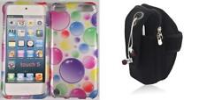 Combo Rainbow Bubbles Love Tree APPLE iPod touch 5th And Black Neopren