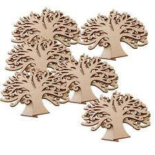 10Pcs Wooden Family Tree MDF Craft scrapbooking Embellishments Wedding Decor