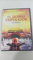 EL ULTIMO EMPERADOR DVD BERNARDO BERTOLUCCI NEW SEALED PRECINTADA NUEVA
