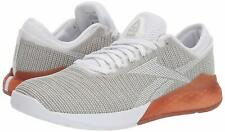REEBOK CROSSFIT NANO 9 Training, Running shoes White/ grey Men's Size 8 New!