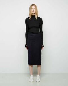 Isabel Marant Black Diza Skirt XS Wool 0 2 4 S