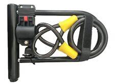 Heavy Duty Bike U-Lock with Cable