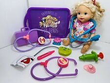 MATTEL Talking Interactive Doll Baby Alive 2011 Make Me Better Lot + Extras