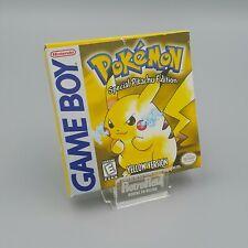 Pokemon Yellow - Gelbe Edition Pikachu OVP - Nintendo GameBoy Classic USA 🇺🇸