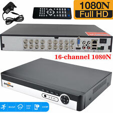 16 Channel CCTV DVR Video Recorder 1080N AHD HDMI Digital SYSTEM MOBILE ACCESS