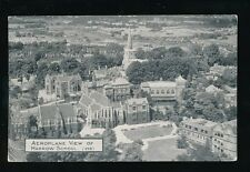 Middlesex HARROW School Aerial view 1924 PPC