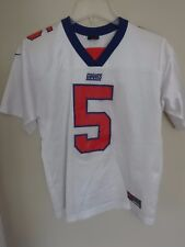 Vintage Nike New York Giants Kerry Collins   5 Replica Football Jersey  Youth L 15dd04a88