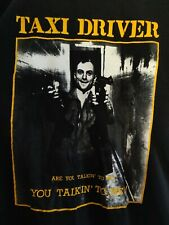 Taxi Driver Movie T Shirt Martin Scorsese Robert Deniro size L